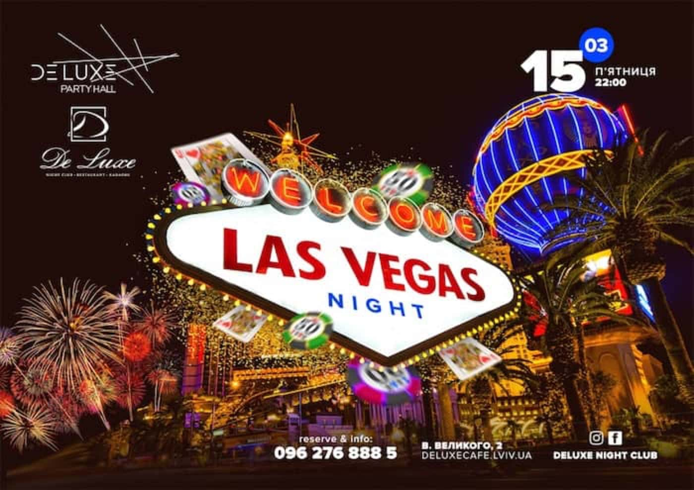 Welcome Las Vegas Night