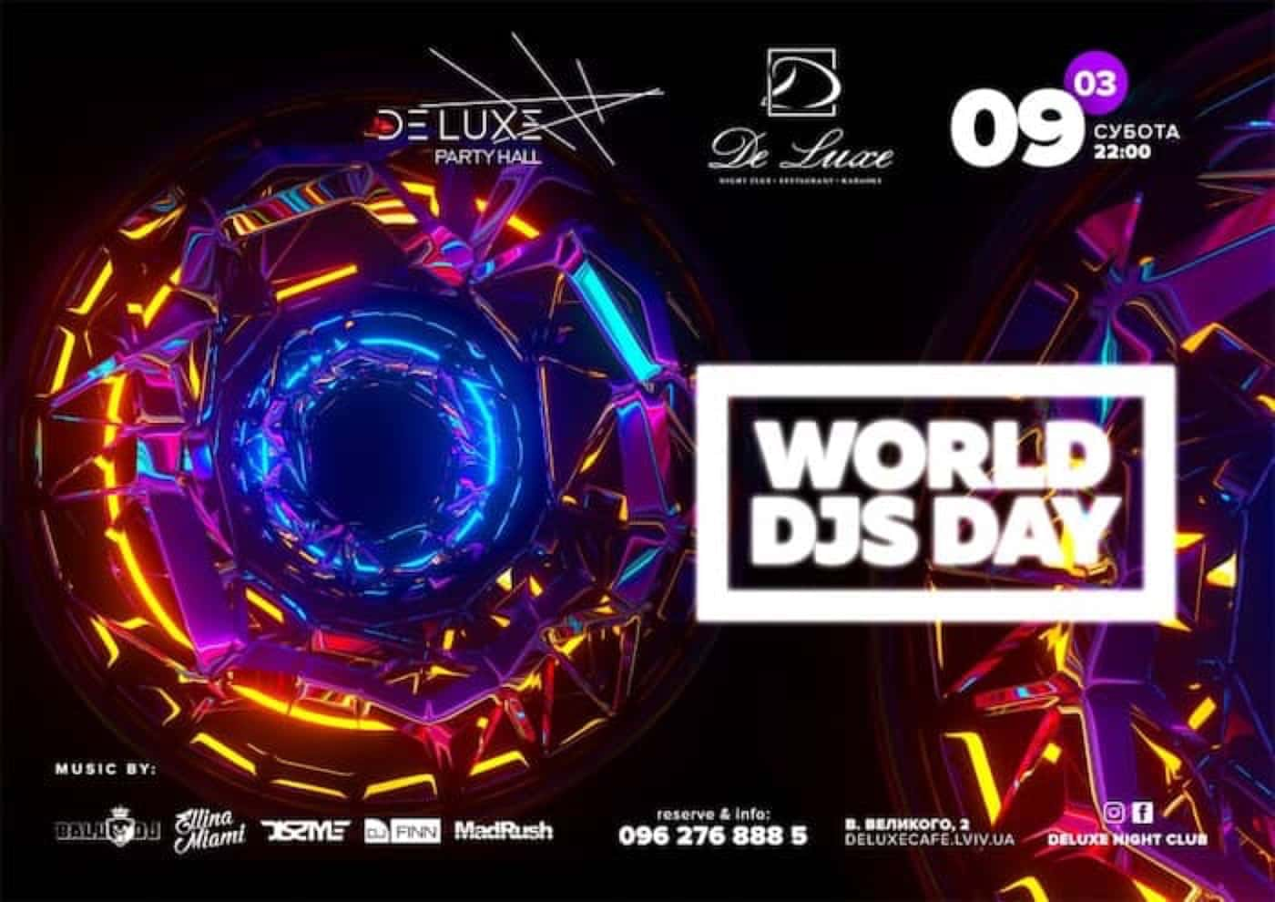 World Djs Day