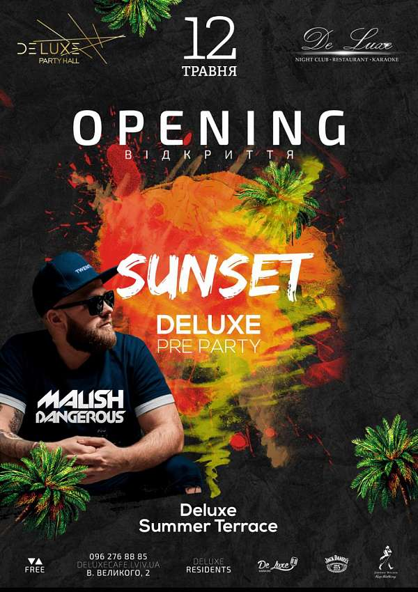 Sunset Deluxe Pre Party