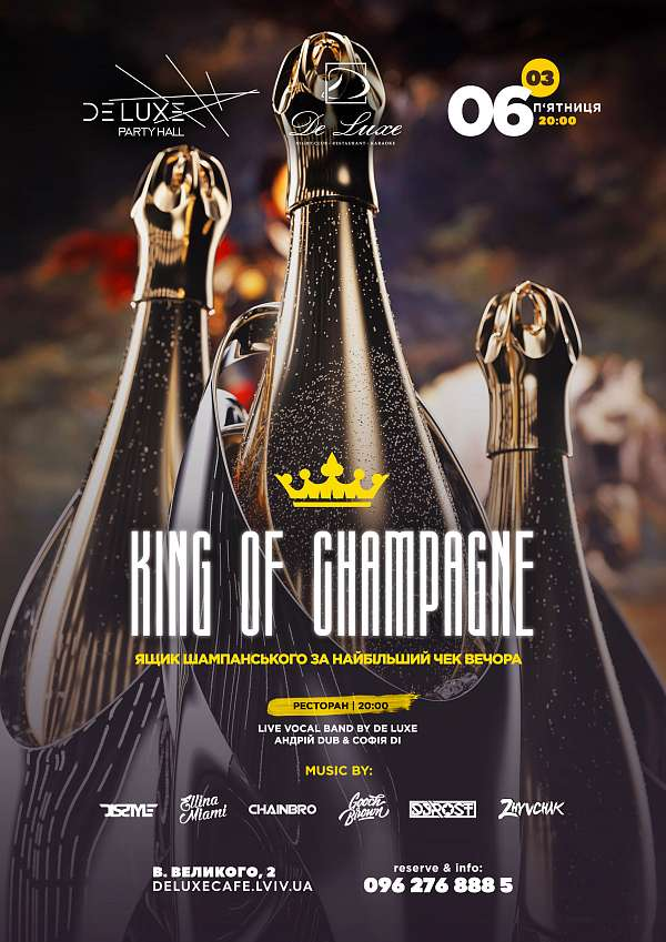 KING OF CHAMPAGNE